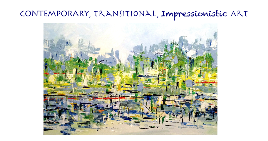 Contemporary, Expressionist and Transitional Art